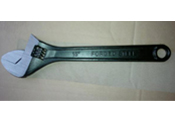 black adjustable wrench