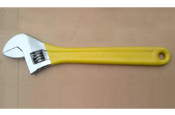 color handle adjustable wrench